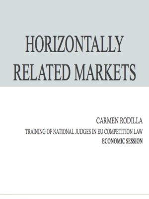 Horizontally related markets imagen